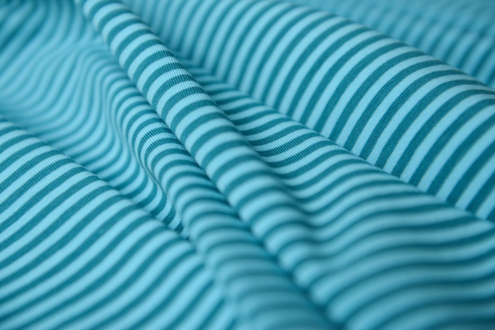 ringeljersey blau t rkis lieblingsstoff. Black Bedroom Furniture Sets. Home Design Ideas