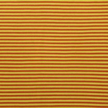 Bio-Bündchen orange/gelb