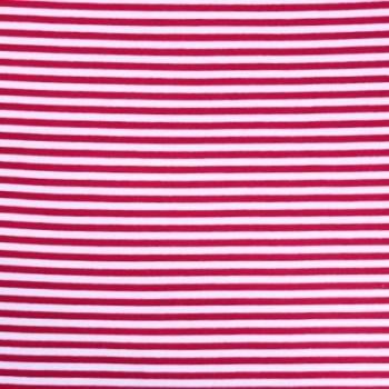 Bio-Bündchen rot/weiß